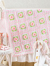 Sweetheart Rose Baby Afghan