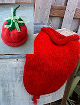 Strawberry Snugglie Set