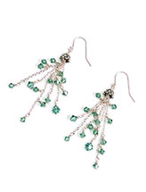 Cascading Sparkler Earrings