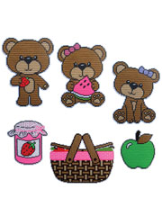 Beary Picnic Wall Decor