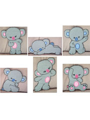 Baby Koala Bears Decor