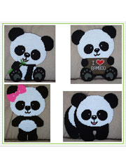 Cute Panda Decor