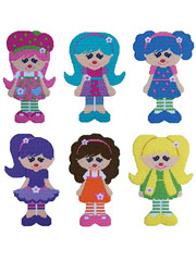 Tutti Fruity Dolls Decor