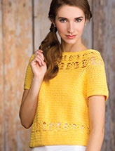Pineapple Lace Pullover