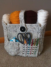 Crocheted Organizer Bag