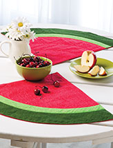 Watermelon Cooler Place Mats