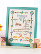 Baby Footprints Sampler