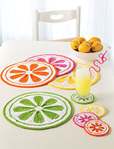 Citrus Drops Table Set
