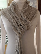 Long Leaves Scarf