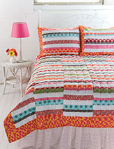 Running Stripes Quilt & Shams