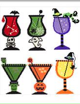 picture regarding Free Printable Halloween Plastic Canvas Patterns named Halloween Plastic Canvas Layouts