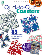 Quick-to-Quilt Coasters
