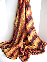Bonfire Wedding Throw