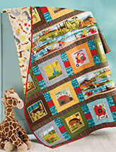 Alphabet Animal Flash Cards Quilt