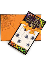 Itty Bitty Halloween Spiders