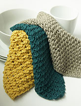 Post Stitch Dishcloths