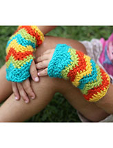 Chevron Gloves