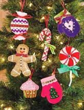Sweet Treats Ornaments