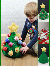 Christmas Tree Advent Calendar & Decor