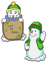 Winter Snow Buddies Set Three