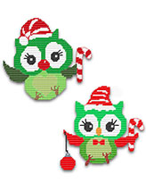 'Tis the Season Christmas Owls