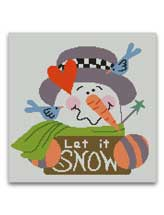 Let It Snow Graphghan