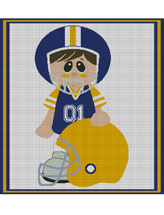My Favorite Football Team Graphghan
