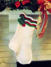 Fireside Christmas Stocking