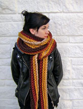 Mile Long Super Chunky Scarf
