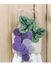 Fruit of the Vine Towel Topper