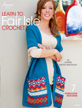 Learn to Fair Isle Crochet