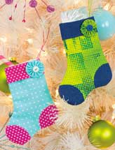 Mini Stocking Ornament & Gift-Card Holder