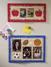 Quilted Fridge Frames