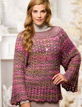 Floating Columns Pullover
