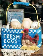 Fresh Eggs Doorstop