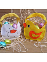 Little Chick & Duck Baskets