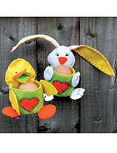 Bunny & Chick Egg Holders