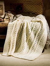 Heirloom Aran Afghan