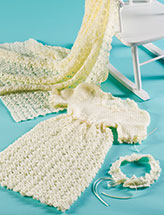 Blessed Darling Christening Set