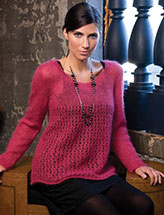 Ethereal Eyelets Pullover