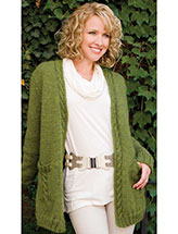 Green Goddess Cardigan