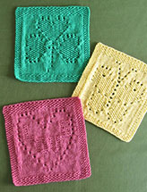 Spring Things Dishcloths