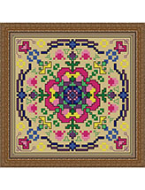 Time to Bloom Floral Mandala