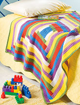 Reader's Rainbow Throw