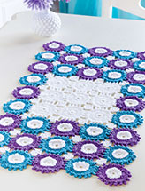 Flower-Motif Table Runner