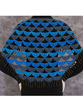 Waves of Wings Shawl