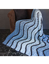 Winding Waters Afghan