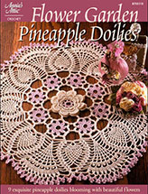 Flower Garden Pineapple Doilies