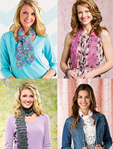 Easy Crochet Scarves
