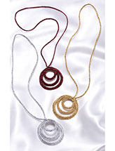 3-Ring Circle Necklace